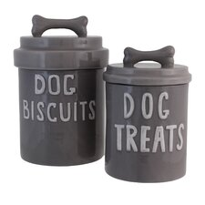 2 Piece Fido Canisters Set