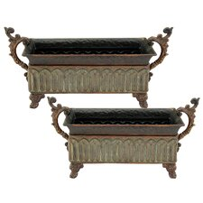 Medici Rectangular Planter (Set of 2)