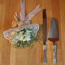 Bow Cake Knife Set