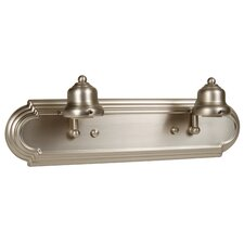 Racetrack Arch 2 Light Bath Vanity Light