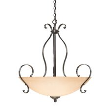 Brookfield 5 Light Inverted Pendant