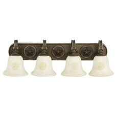 Chaparral 4 Light Bath Vanity Light