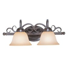 Sheridan 2 Light Bath Vanity Light