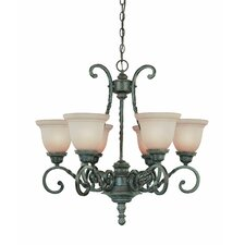 <strong>Jeremiah</strong> Sutherland 6 Light Chandelier