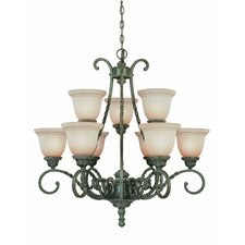 <strong>Jeremiah</strong> Sutherland 9 Light Chandelier