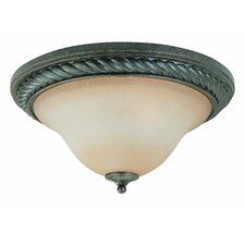 Sutherland 2 Light Flush Mount