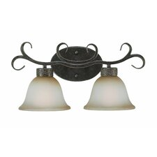 Brookshire Manor 2 Light Bath Vanity Light