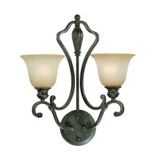 <strong>Jeremiah</strong> Old Burlington 2 Light Wall Sconce