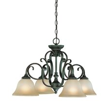 <strong>Jeremiah</strong> Barret Place 4 Light Chandelier