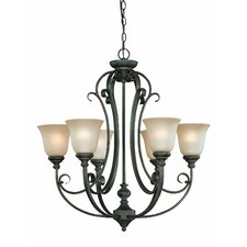 Barret Place 6 Light Chandelier