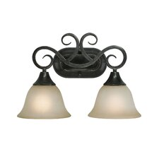 <strong>Jeremiah</strong> Torrey 2 Light Bath Vanity Light