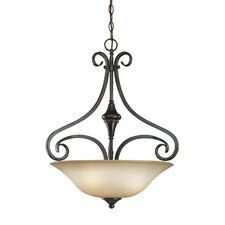 Torrey 3 Light Inverted Pendant