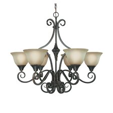 Torrey 6 Light Chandelier