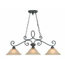 Highland Place 3 Light Kitchen Island Pendant
