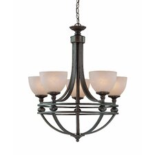 <strong>Jeremiah</strong> Seymour 5 Light Chandelier
