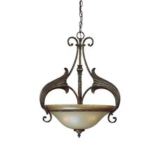 Ferentino 3 Light Inverted Pendant