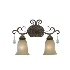 Englewood 2 Light Bath Vanity Light
