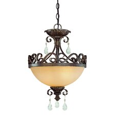 <strong>Jeremiah</strong> Englewood 2 Light Semi Flush Mount