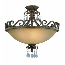 <strong>Jeremiah</strong> Englewood 4 Light Semi Flush Mount