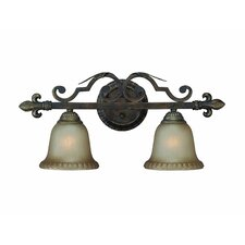 Devereaux 2 Light Bath Vanity Light