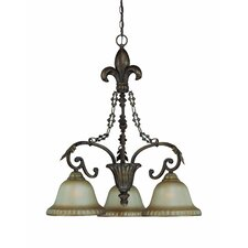 Devereaux 3 Light Chandelier