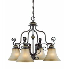 <strong>Jeremiah</strong> Kingsley 4 Light Down Chandelier