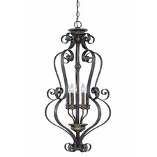 Kingsley 5 Light Foyer Pendant