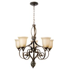 Mia 5 Light Chandelier