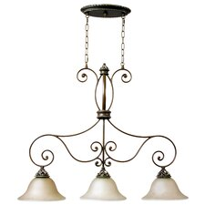 Mia 3 Light Kitchen Island Pendant