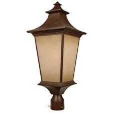 Argent 1 Light Post Lantern