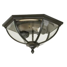 Britannia 2 Light Flush Mount