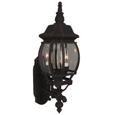 French Style 3 Light Wall Sconce