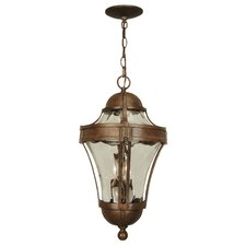Parish 3 Light Outdoor Pendant