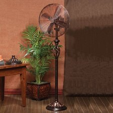 "<strong>Deco Breeze</strong> Prestige 16"" 3 Speed Pedestal Floor Fan"