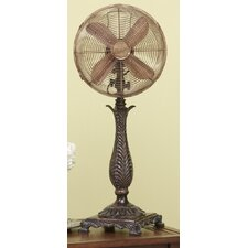 Roccoco Decorative Table Top Fan