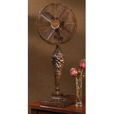 <strong>Deco Breeze</strong> Cantalonia Decorative Table Top Fan