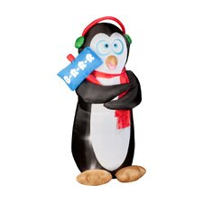 Airblown Animated Shivering Penguin Christmas Decoration