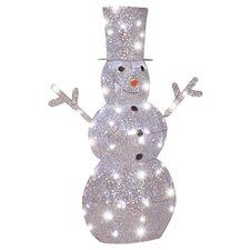 Starry Night Snowman Christmas Decoration