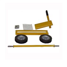 Semi Pneumatic Hand Tow Kit w/ Optional Concrete Mixers