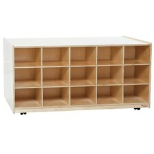 Mobile Island 15 Compartment Cubby