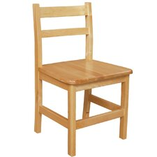 "15"" Wood Classroom Glides Chair (Set of 2)"