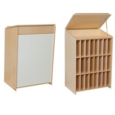 Sign In Center 24 Compartment Cubby