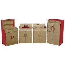 4 Piece Classic Appliance Set