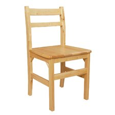 "18"" Wood Classroom Glides Chair"