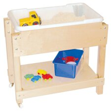 Petite Sand and Water Table with Top and Shelf