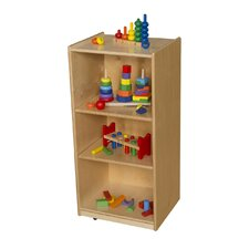 3 Shelf Unit with Adjustable Shelves