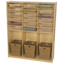 16 Compartment Cubby Locker