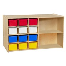 Contender Double Mobile 14 Compartment Cubby