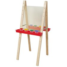 Double Adjustable Easel with Two Side Acrylic board