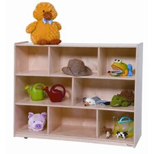 "36"" Tip-Me-Not Single Storage Unit with Hardboard Back"